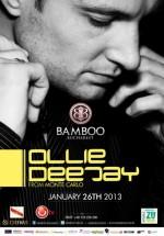 Ollie Deejay în Club Bamboo din Bucureşti