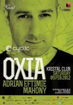 Oxia, Adrian Eftimie şi Mahony în Kristal Club din Bucureşti