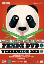 Panda Dub şi Vibration Lab în Club Midi din Cluj-Napoca