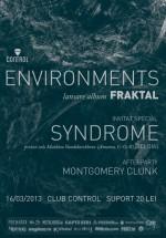 Lansare album Enviroments în Control Club din Bucureşti