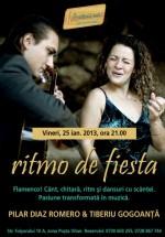 Concert Pilar Diaz Romero – Ritmo de Fiesta în Club Prietenii Mei din Bucureşti