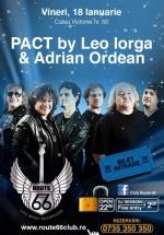 Concert PACT (Leo Iorga şi Adi Ordean) în Route 66 Club din Bucureşti