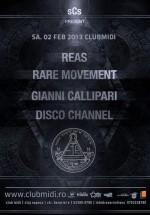 Reas şi Rare Movement în Club Midi din Cluj-Napoca