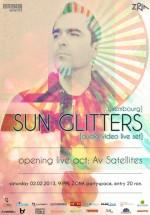 Sun Glitters în Club Zona din Iaşi