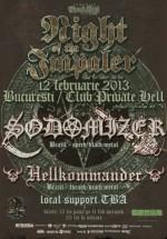 Concert Sodomizer în Private Hell Club din Bucureşti