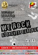 We Rock Party în Shakespeare Bar din Bucureşti