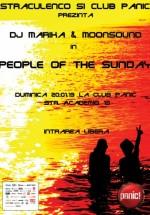 People of the Sunday (Marika şi MoonSound) cu Panic! Club din Bucureşti