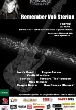 Remember Vali Sterian în Ageless Club din Bucureşti