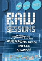 Raw Session cu Weapons Grade şi Inflex în Club Expirat din Bucureşti