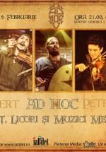 Concert Ad Hoc în Club Zappa din Bucureşti