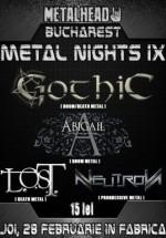 Bucharest Metal Nights IX în Club Fabrica din Bucureşti