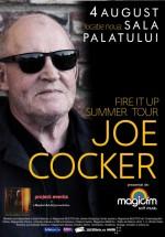 Concert Joe Cocker la Sala Palatului din Bucureşti