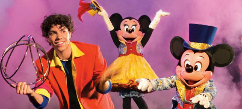 O nouă reprezentaţie Mickey's Magic Show la Bucureşti pe 17 februarie 2013