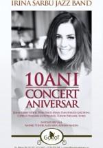 Concert aniversar Irina Sârbu în Godot Cafe Teatru din Bucureşti