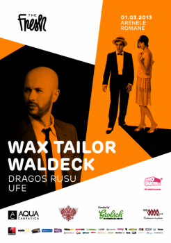 Concert Wax Tailor şi Waldeck la Arenele Romane din Bucureşti