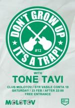 Don't Grow Up Party în Molotov din Bucureşti