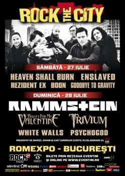 Rock the City 2013 la Bucureşti
