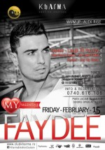 Concert Faydee în Club Kharma din Cluj-Napoca