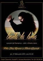Concert Pilar Diaz Romero – Baila la Luna la Clubul Ţăranului din Bucureşti