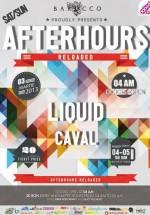Liquid în Barocco Bar din Bucureşti