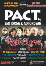 Concerte PACT în Sibiu, Suceava, Bacău şi Piatra Neamţ
