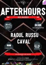 Raoul Russu în Barocco Bar din Bucureşti