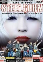 Concert Steelborn în Ageless Club din Bucureşti