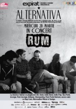 Concert [R'UM] în Club Expirat din Bucureşti