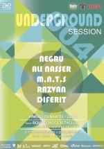 Underground Session 004 în fostul Burbon Society Club din Iaşi