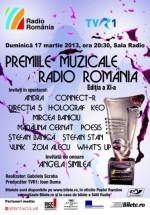 Premiile Muzicale Radio România 2013 la Sala Radio din Bucureşti