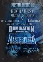 Bucharest Metal Nights X în Club Fabrica din Bucureşti