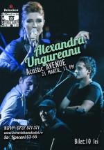 Concert acustic Alexandra Ungureanu la Berăria Hanul cu Tei din Bucureşti