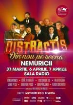 Distractis Show – Nemuricii la Sala Radio din Bucureşti