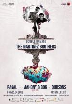 The Martinez Brothers în Kristal Club din Bucureşti