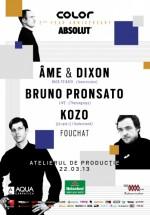 Âme & Dixon şi Bruno Pronsato în Atelierul de Producţie din Bucureşti (CONCURS)