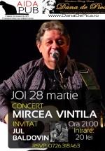 Concert Mircea Vintilă în Aida Cafe din Bucureşti