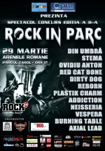 Spectacol – concurs Rock în Parc la Arenele Romane din Bucureşti