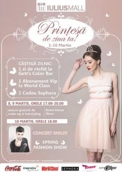 Concert Smiley la Iulius Mall din Cluj-Napoca