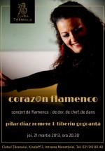 Concert Pilar Diaz Romero – Corazon Flamenco la Clubul Ţăranului din Bucureşti