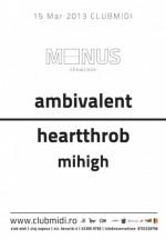 Ambivalent şi Heartthrob în Club Midi din Cluj-Napoca