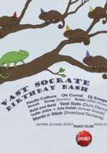 Vast Socrate Birthday Bash & Philosopher DJ's în Panic! Club din Bucureşti