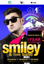 Concert Smiley în Club The One din Oradea
