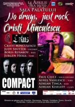 Concert Cristi Minculescu & Lotus şi Compact la Sala Palatului – AMÂNAT