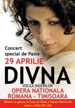 Concert de Paşte – Divna la Opera Naţională Română din Timişoara