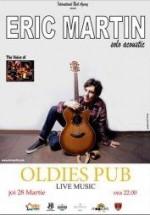 Concert LIVE Eric Martin în Oldies Pub din Sibiu