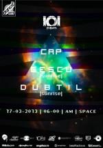 Cap, Gescu şi Dubtil în Space Club din Bucureşti