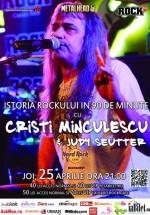 Concert Cristi Minculescu în Hard Rock Cafe din Bucureşti (CONCURS)