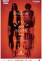 All Hollow # 3 Launch Party cu Reptile Youth în Control Club din Bucureşti