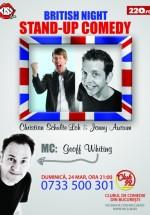 British Night Stand-Up Comedy în Club 99 din Bucureşti