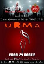 Concert URMA în Euphoria Music Hall din Cluj-Napoca